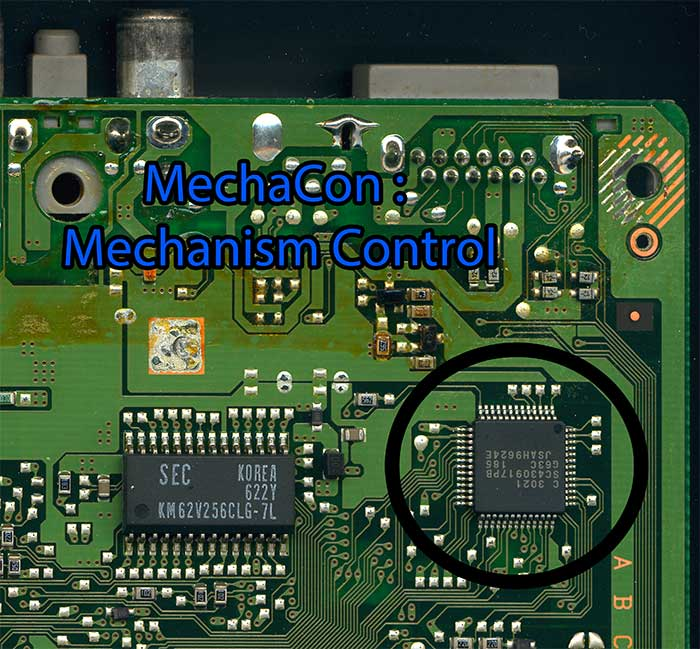 MechaCon : Mechanism Control Net Yaroze PlayStation